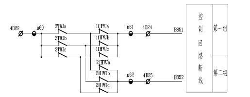 时间控制器于380v磁吸接线图
