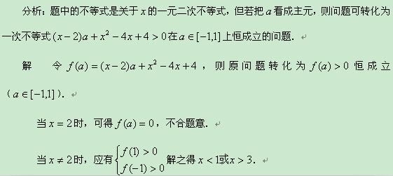 方程不等式及其应用知识结构图
