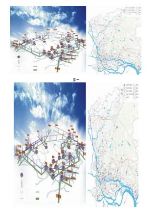 优化整个电网线路的内部结构