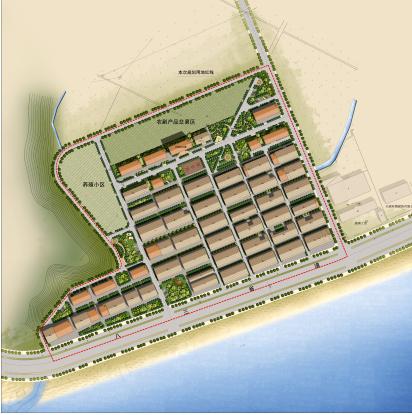 圆形公共建筑分析图