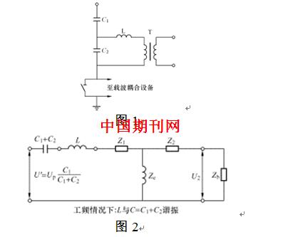 电容式电压互感器接线图见图1