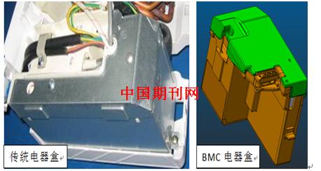 空调内机电器盒结构设计研究