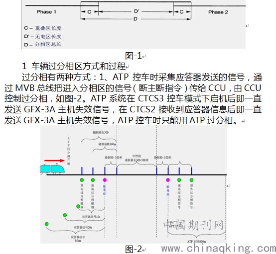 而若在分相区间中间直流环节电压降到3000v以下,则牵引变流器接触器q1