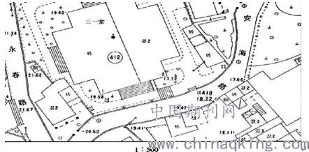图一:某市全站仪碎部测量显示图           二,gps-rtk地形图测量