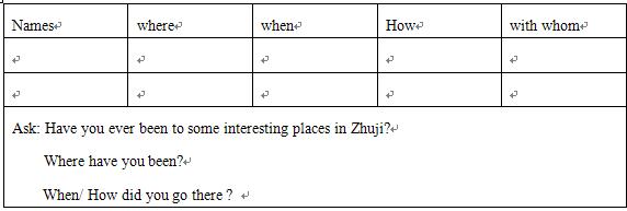 """以""""支架""""理论指导初中英语写作教学的案例"""