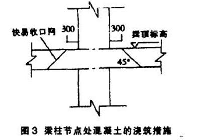 高层建筑框架结构梁柱节点施工技术 王昆华