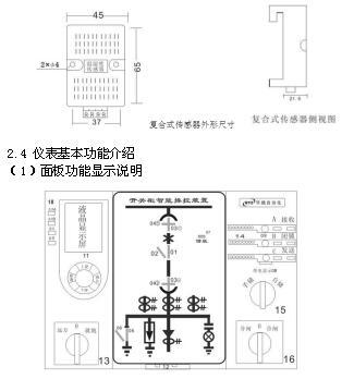 分闸、合闸、电源监视综合控制装置外部接线图