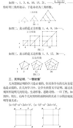 代数与几何知识结构图