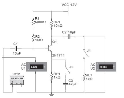 2.测量中频电压放大倍数
