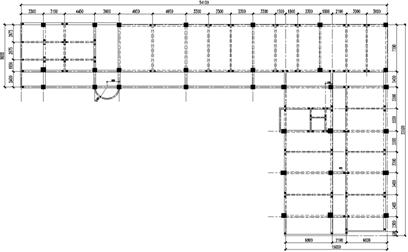 浅析l形框架结构的扭转控制