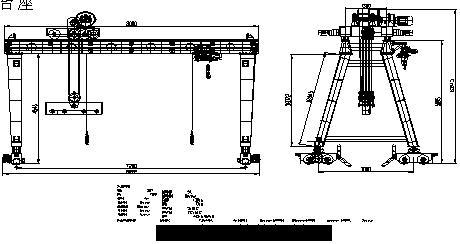 龙门吊接线方法电路图
