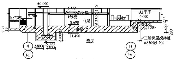 中国十九冶集团有限公司深圳分公司 摘要:本文主要针对深基坑钢管抛撑支护施工技术展开了探讨,通过结合具体的工程实例,对工程特点和施工重点作了详细阐述,并对钢管抛撑施工技术的应用作了系统的分析,以期能为有关方面的需要提供参考借鉴。 关键词:深基坑;支护施工;技术应用 随着科学技术的不断发展,高层建筑的深基础施工技术也在不断提高。作为建筑结构中极其重要的部分之一,深基坑支护结构的施工质量会对整个建筑结构安全质量产生直接影响。而钢管抛撑技术作为深基坑施工中的一种支护施工技术,因其自身独特的优点具有着广泛的应用。基