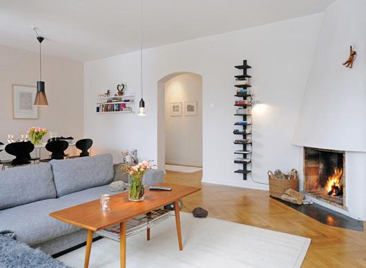 清新現代家居設計 北歐風格客廳裝飾的解讀