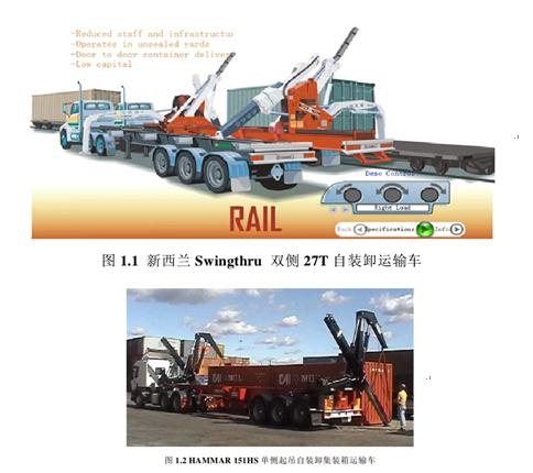 关于集装箱自装卸式运输车国内外现状及发展趋势研究