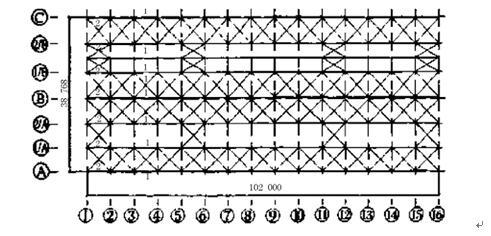 某重型钢结构厂房结构设计剖析