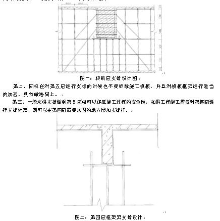 对转换梁的上部开始浇筑钢筋砼直到转换层楼板处→等到浇筑的钢筋图片