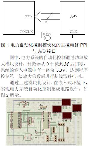 硬件电路包括主控电路设计,复位电路设计,基线恢复电路设计和时钟电路