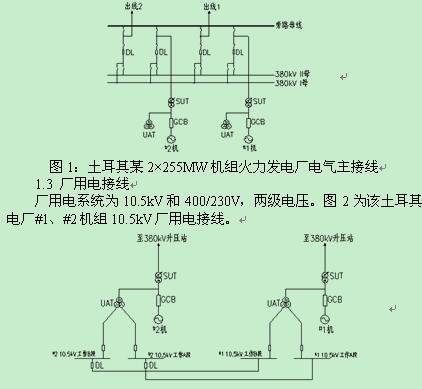 建立双回路电源通道,互为备用的动力中心采用自动