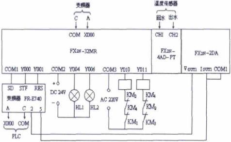 plc输出放大板电路