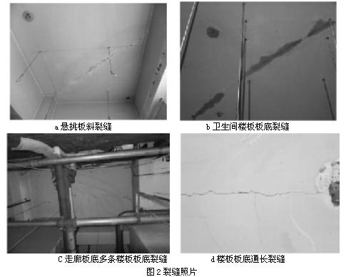钢筋混凝土框架结构楼面裂缝探析