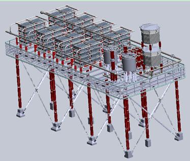 长治站电容器组每塔4层,每层28台,每个电容器塔为8串14并接线,每相为1