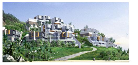深圳市华阳国际工程设计股份有限公司广州分公司 510655 摘要:山地建筑的设计理论研究涉及规划学、建筑学、生态学、地理学、设计学和环境学等众多学科内容,它是山地建筑学中理论构想和研究成果转化到实际运用中的重要环节,对在山地环境中进行科学设计及应用型理论创作起到了直接的指导作用。本文主要探究了山地建筑设计理念,山地建筑设计中需要注意的问题以及具体案例分析,以供参考。 关键词:山地建筑;设计理念;注意问题 引言: 从地理的角度来看,地球上的山地面积远远大于平原的面积,特别是在我国境内,山地面积更是占陆地总面