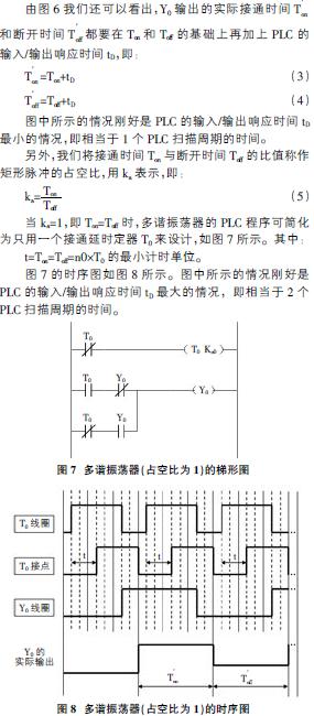 定时器的plc 程序设计