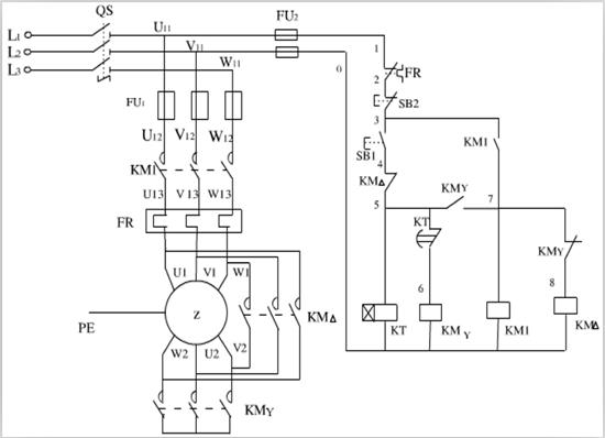 plc控制三相异步电动机y-△降压启动的多种方案