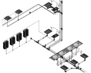 (1.山东莱钢建设有限公司,山东,青岛,266071) 【摘 要】如今BIM技术的发展与应用,已被公认为继CAD技术之后建筑业的二次科技革命,十八大以来,国家高度重视信息化产业发展,住房城乡建设部大力推动BIM技术在建设行业的应用;模块化建筑体系的专利技术又代表了目前世界上最先进的住宅设计和建造水平,也是目前国际上最先进和最彻底的住宅产业化、工业化的建筑模式。如何将两者有机结合是本文重点阐述的内容;本文主要介绍了BIM技术针对钢结构模块化建筑工程的特点,在多专业协同设计、结构预留孔洞、三维碰撞检查、虚拟施