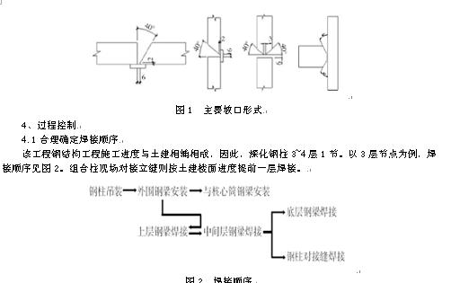 高层建筑钢结构焊接施工技术