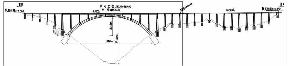 经实际证明,该技术是目前施工大跨度钢管混凝土拱桥最为结构合理,最为