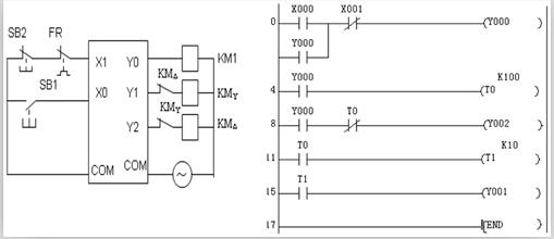 电动机m由星形连接改接为三角形