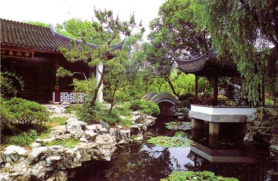 奥运城市旅游之:上海青浦风景区