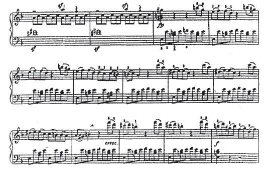 简析贝多芬钢琴奏鸣曲 暴风雨 第一乐章